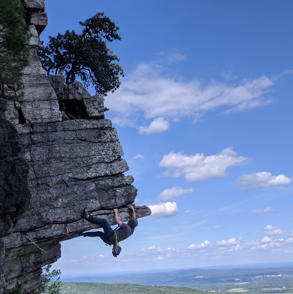 The Dangler, Gunks, NY. 2020.